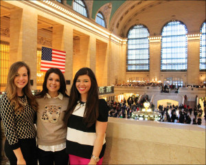 Abbie Wenthe, Allissa Fisher and Madison Alcedo
