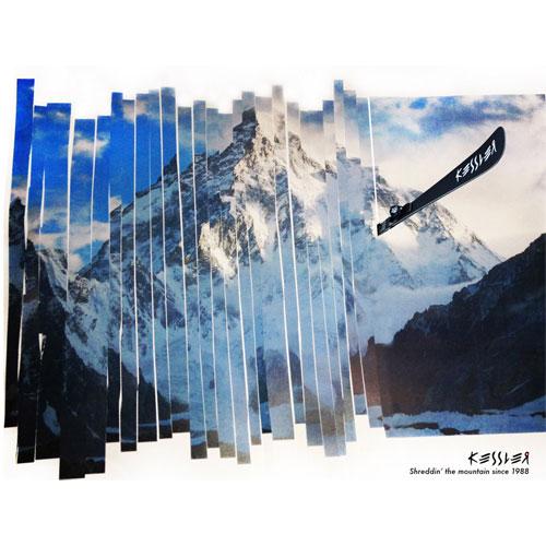 Kessler Skis Ad by Patrick Ruppert
