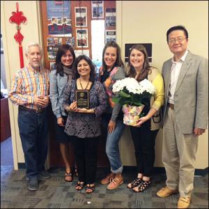 Shubhaga Jalisatgi Named 2014 Recipient of Amy Lenk Staff Excellence AwardShubhaga Jalisatgi Named 2014 Recipient of Amy Lenk Staff Excellence Award