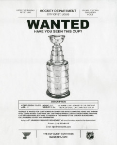 Ad by Ben Pfeiffer for the St. Louis Blues