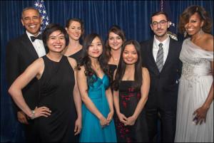 Mizzou Students at 2014 White House Correspondents Dinner