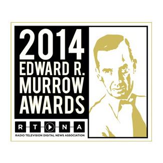 2014 Edward R. Murrow Award