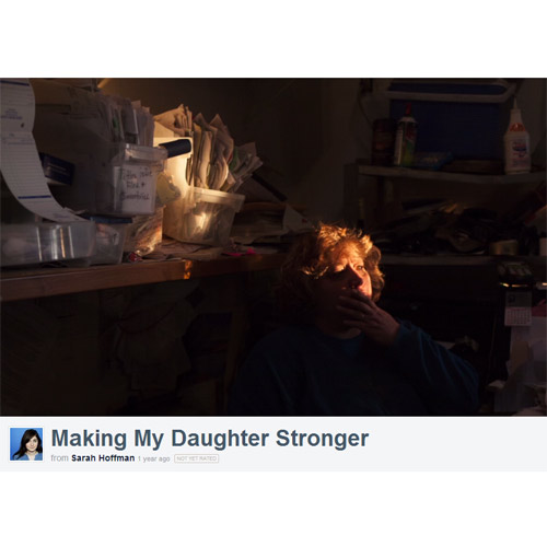 """Making My Daughter Stronger"" by Sarah Hoffman, BJ '13"