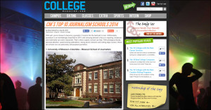CollegeMagazine.com Ranks the Missouri School of Journalism No. 1