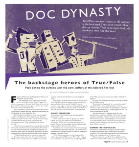 Vox Magazine: Doc Dynasty