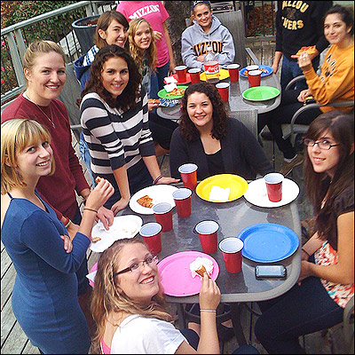 Freshman Interest Group Pizza Party