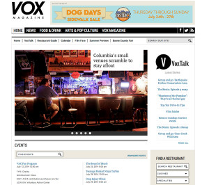 Vox Redesigned: Home Page