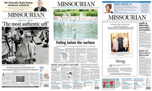 Columbia Missourian Best Page Design