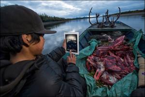 James Andre on Caribou Hunt
