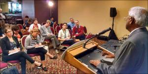 Sanjaya Rajaram News Conference