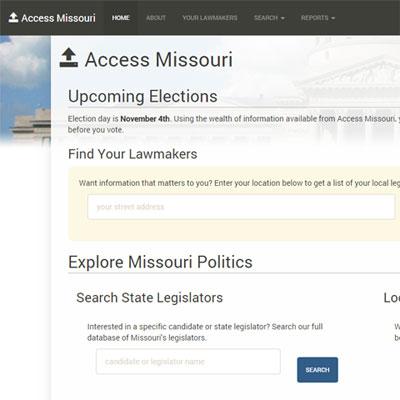Access Missouri Website