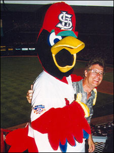 Greg Wagner with Fred Bird