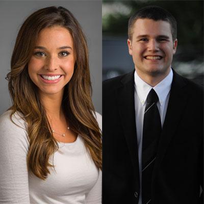 Hannah Battah and Tyler Greever