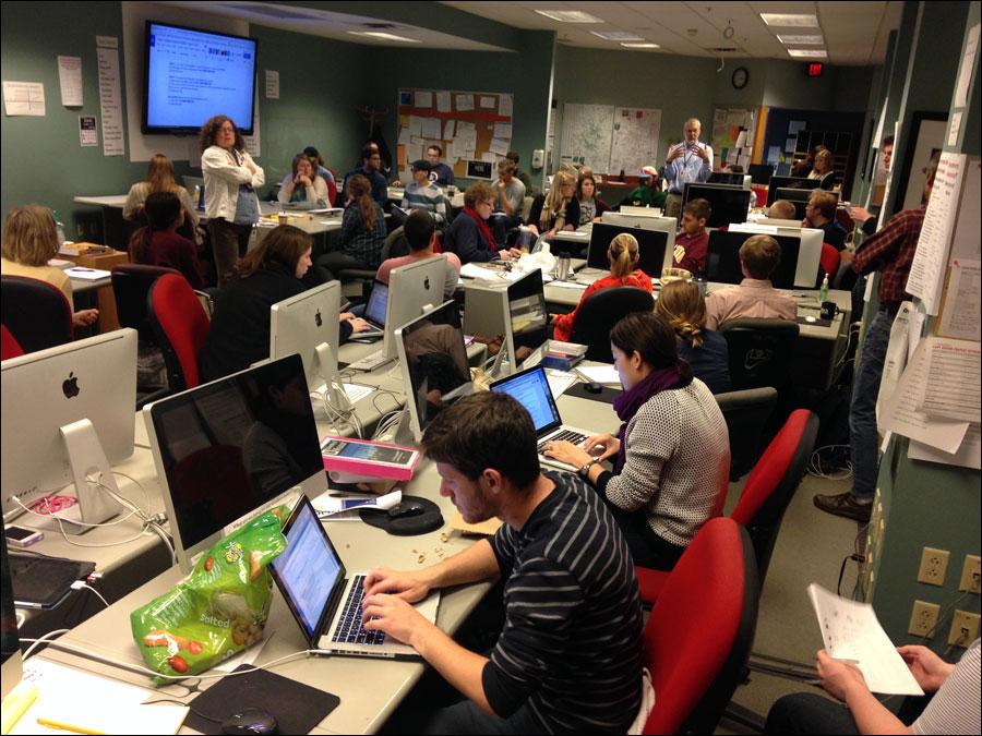 Columbia Missourian Newsroom