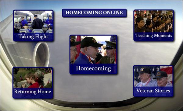 """Homecoming"" Website"