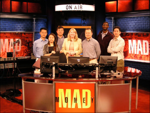 Xin Li and Marty Steffens on the CNBC Mad Money Set