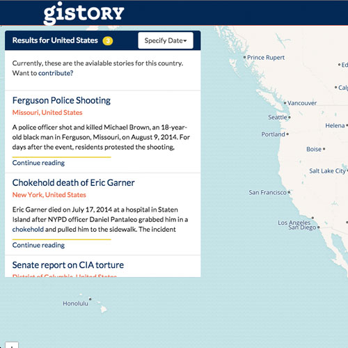 Gistory Screenshot