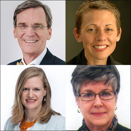 Berkley Hudson, Elizabeth Hendrickson, Elizabeth Lance and Marcia Prior-Miller