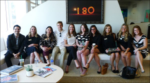 MOJO Ad Staff at 180LA