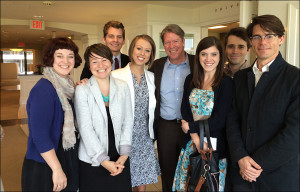 Missouri Graduate Students with Major Garrett, BJ '84