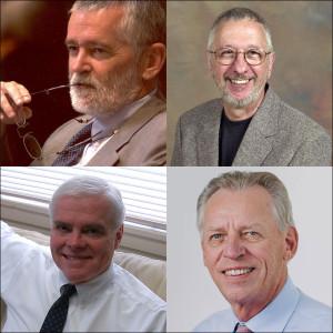 Phill Brooks, Roger Fidler, Dean Mills and Daryl Moen