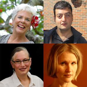 Tad Bartimus, Harsh Taneja, Marie Tessier and Anne Thompson