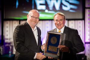 Jim Riek at 2015 MBA Awards