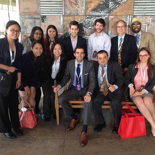 Mizzou Business Journalism Students with Andrew Ross Sorkin