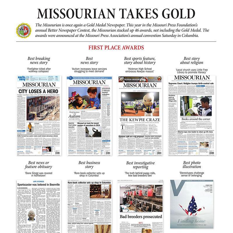 Missourian Takes Gold