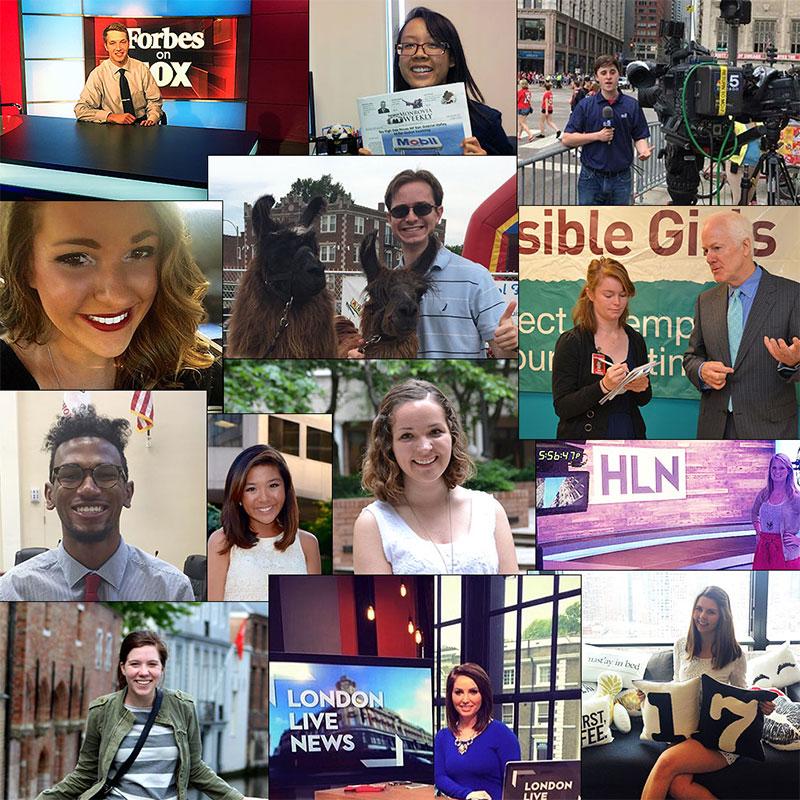 Student Internship Stories 2015
