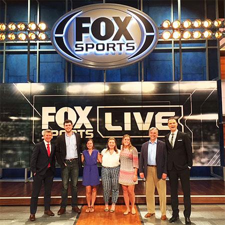 AdZou Team in LA with Fox Sports University