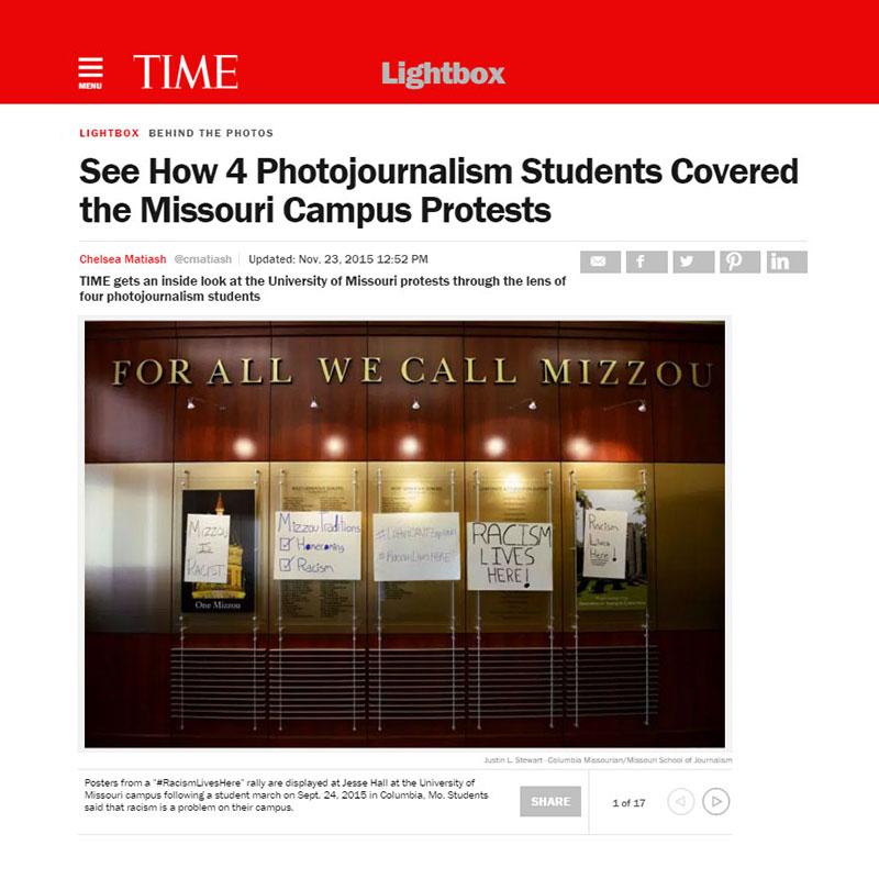 Time Magazine Lightbox