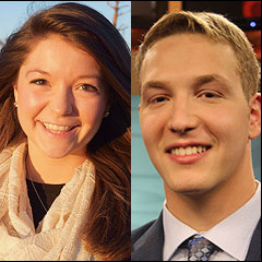 Jenna Middaugh and Zack Newman