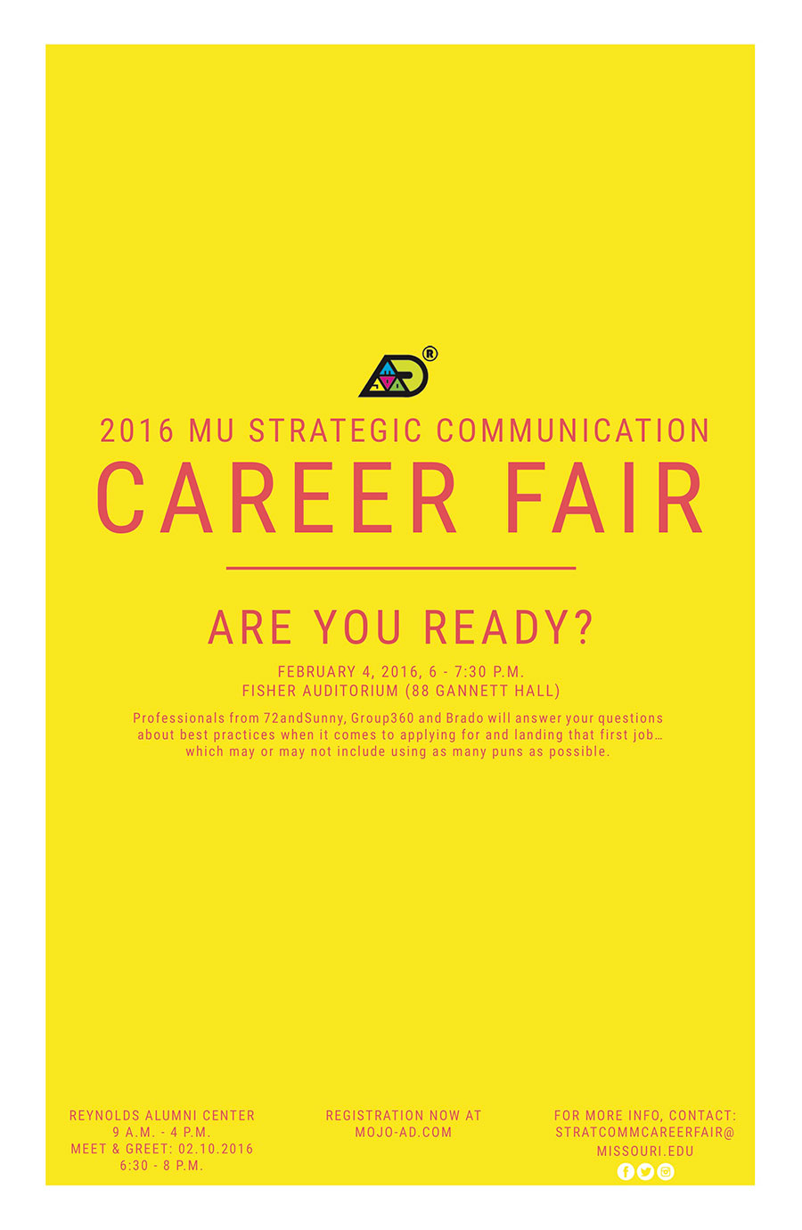 Strategic communication career fair to feature a job hunt qa 2016 strategic communication career fair m4hsunfo