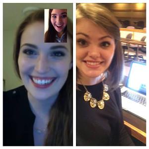 Lauren Sines, Hailey Yeakle and Brooke Burge