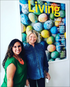 Ciera Velarde with Martha Stewart