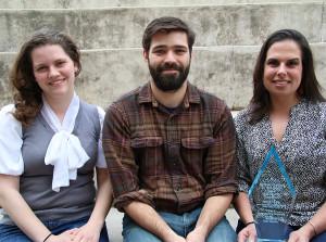 Rebecca Smith, Bram Sable-Smith and Sara Shahriari