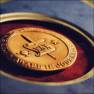 Sigma Delta Chi Medallion