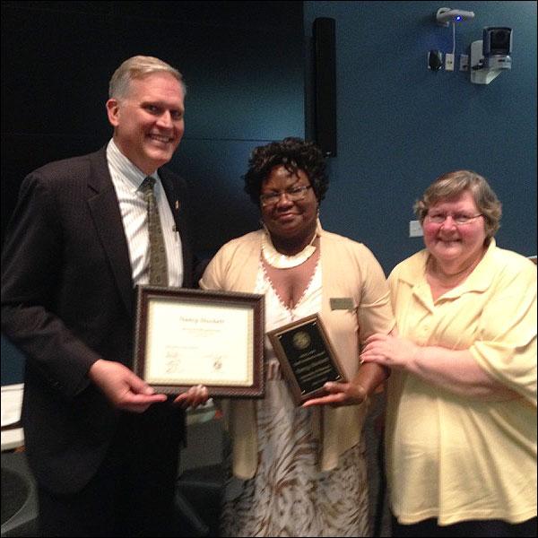 Nancy Stockett Staff Award
