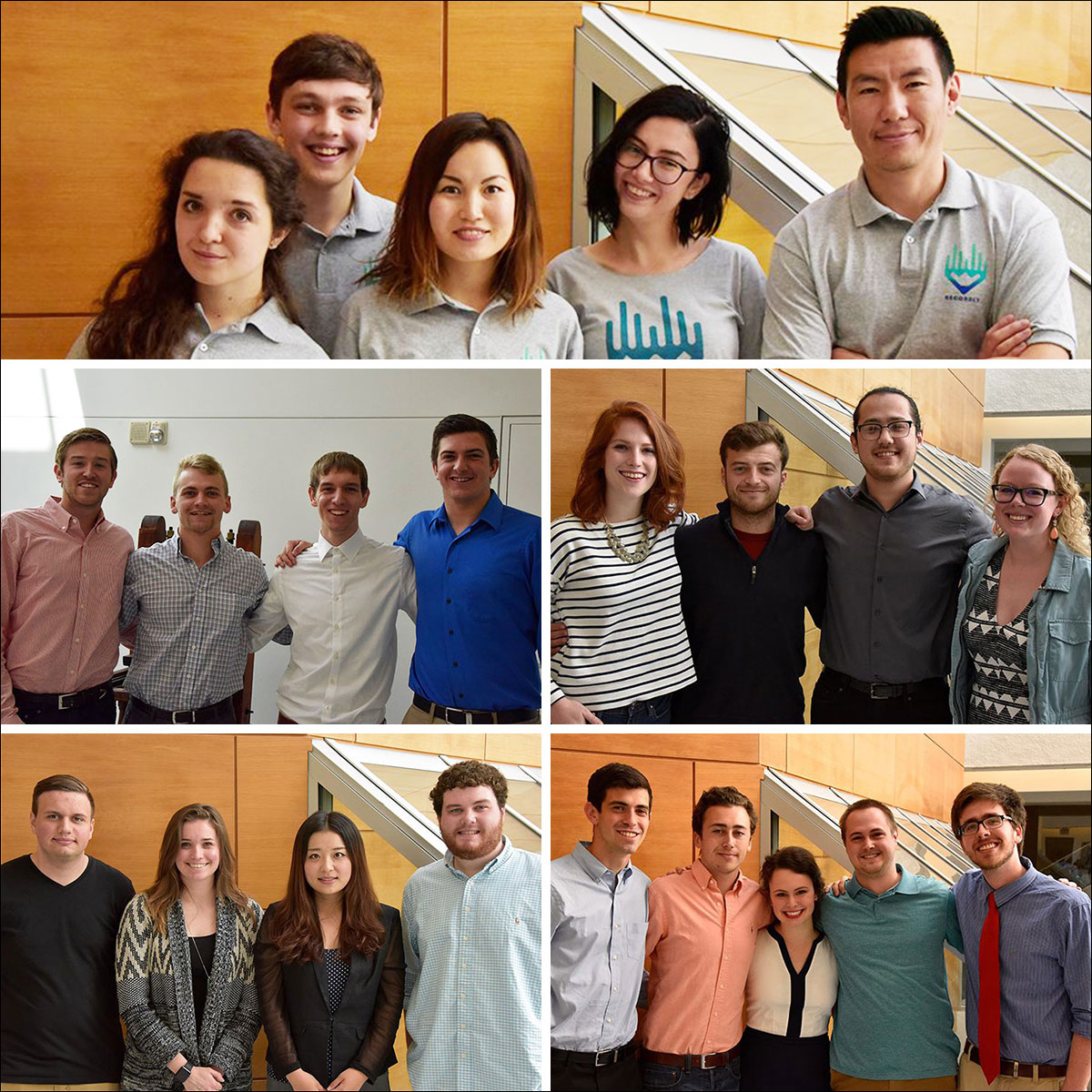 RJI Student Competition Teams for 2016