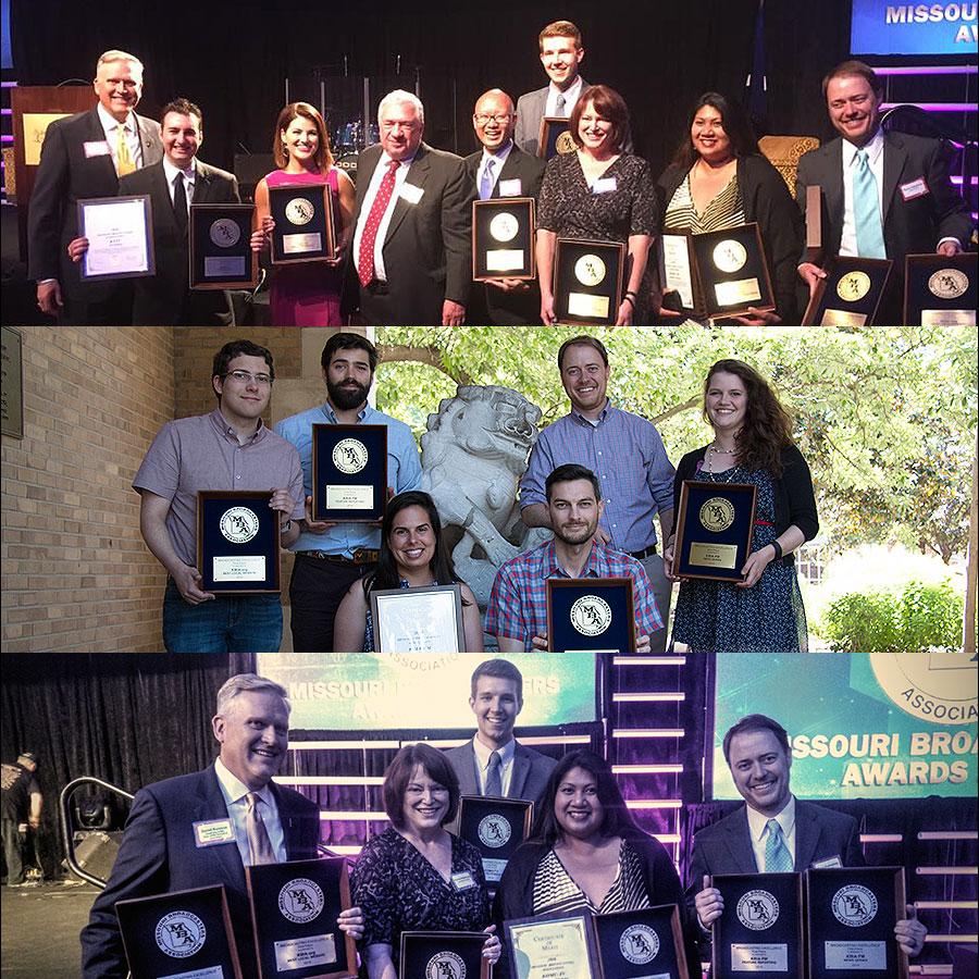KOMU-TV, KBIA-FM Earn 10 Awards from Missouri Broadcasters Association