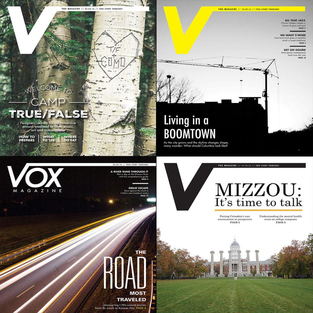 Vox Magazine Covers