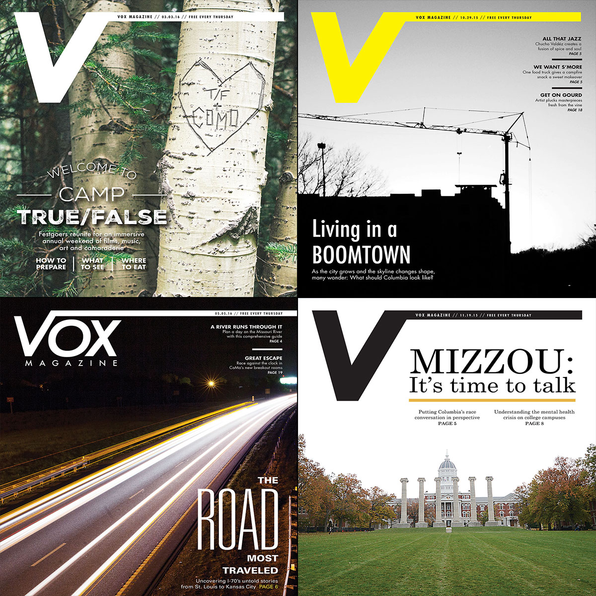 Vox Magazine Covers