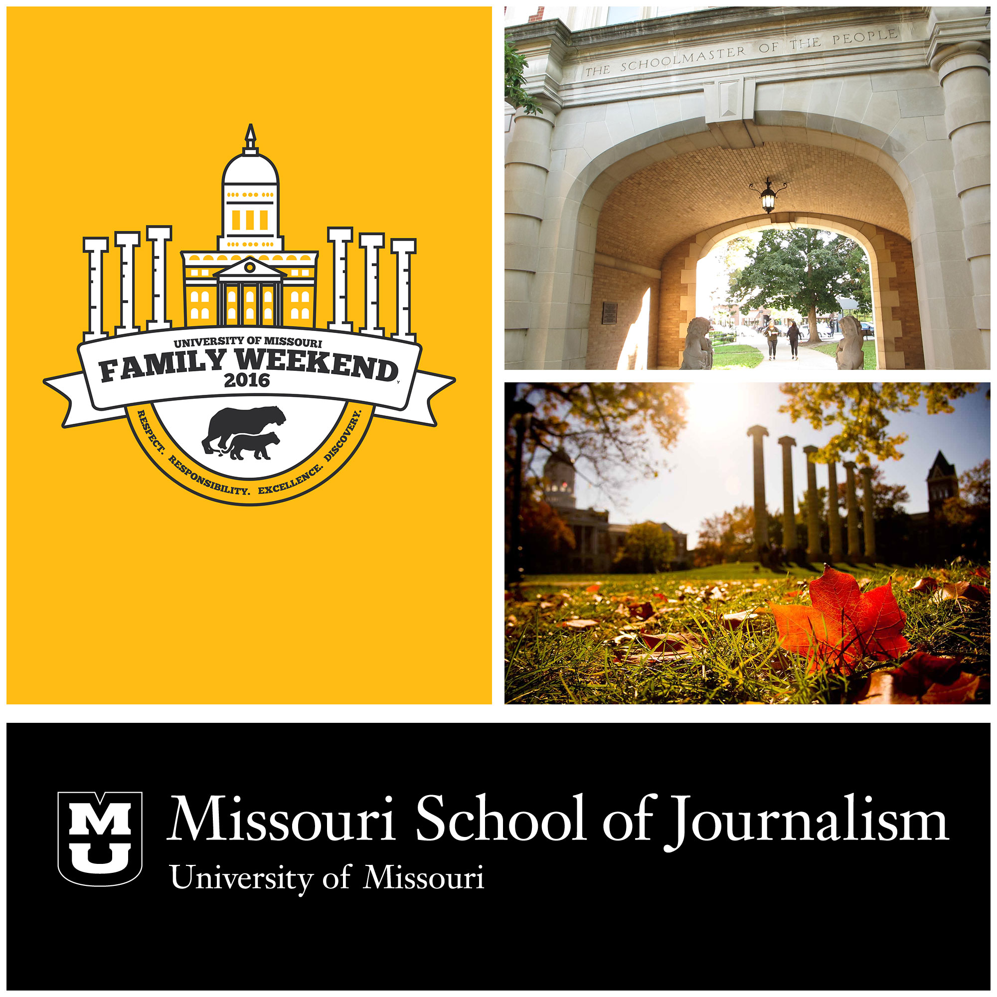 Family Weekend at the Missouri School of Journalism