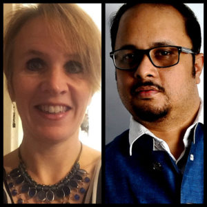 Laura Ungar and Sujoy Dhar