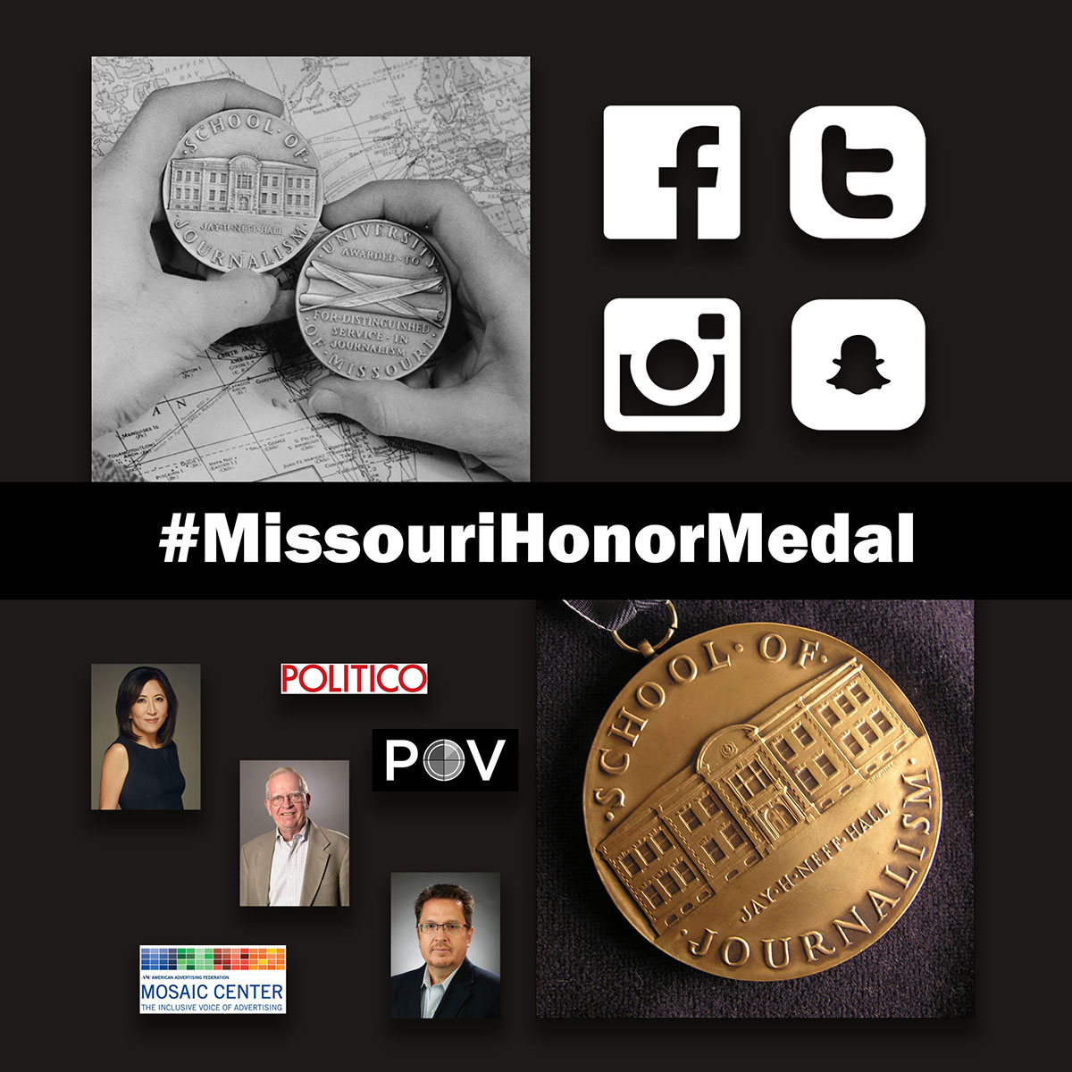 Honor Medalists to Share Perspectives, Expertise During Oct. 18 Master Classes