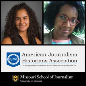 Assistant Professor Cristina Mislan and Doctoral Student Rachel Grant