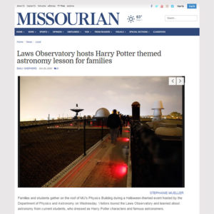 Columbia Missourian Oct. 26 Article