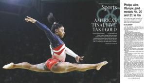 """America's 'Final Five' Take Gold"""