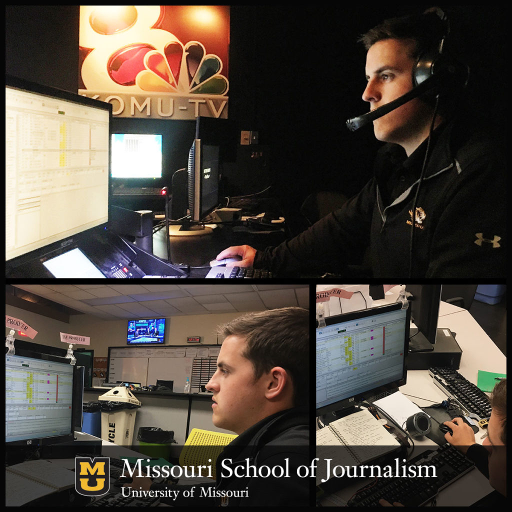 Mike Carlson: Student Producer at KOMU-TV